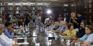 Docentes bonaerenses y el Gobierno provincial
