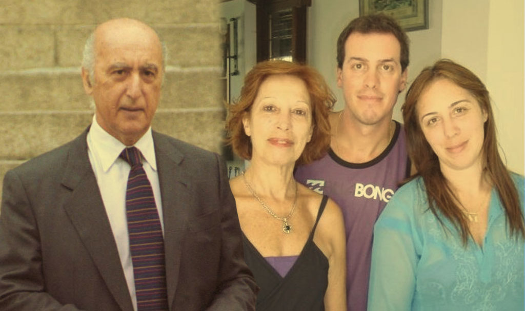 madre de Vidal,Maria Eugenia Vidal, Banco mayo