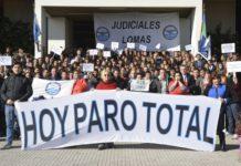 Judiciales rechazaron la oferta salarial