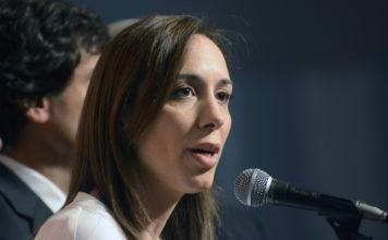 Vidal descartó ser candidata presidencial en 2019