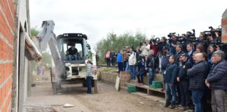 Derribaron bunker narco en Bugde: secuentran ametralladora de El Lágrima