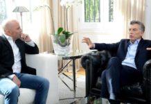 Macri se reunió con Sampaoli en la Quinta de Olivos