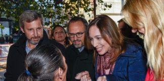 Valenzuela junto a Vidal y Frigerio anunciaron obras