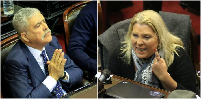 De Vido denunció a Elisa Carrió por amenazas