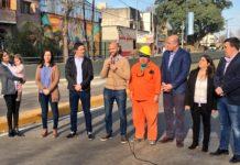 Molina y Dietrich inauguran importantes obras viales en Bernal