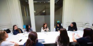 Cristina Kirchner se reunió con las trabajadoras de Pepsico