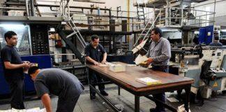 Continua la caída de la producción industrial de las pymes