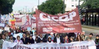 Vidal no cumplió y la CICOP vuelve a las protestas
