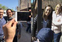 Macri y Vidal encabezaron un timbreo junto a sus candidatos