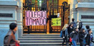 Garavano calificó de ilegalidad la toma de colegios