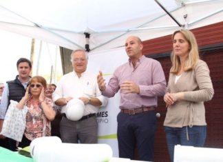 Martiniano Molina y Gladys González inauguraron obras en Quilmes