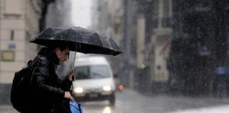 Una tormenta eléctrica causó inundaciones en Capital y el Conurbano