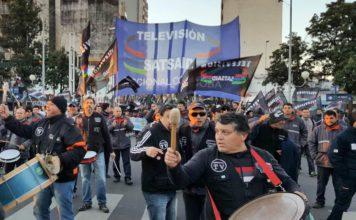El Sindicato Argentino de Televisión de paro por 24 horas