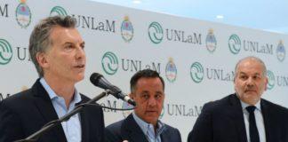 Macri presentó a Finocchiaro como candidato en La Matanza