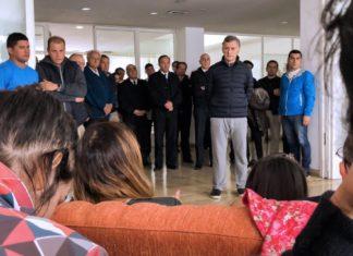 presidente mauricio macri,macri, submarino, mar del plata