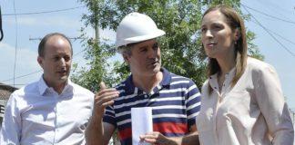 Vidal junto a Insaurralde recorrieron obras en Lomas de Zamora