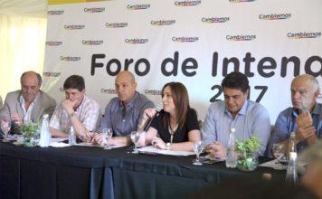 Vidal prometió volver a los intendentes de Cambiemos