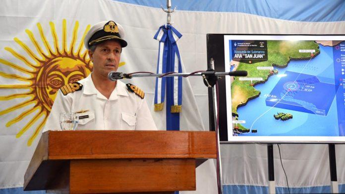 La Armada descartó un ataque contra el ARA San Juan