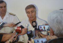 Aguad prometió seguir con la búsqueda del ARA San Juan