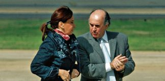 Cristina Kirchner y Parrilli