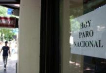 Hoy comienza el paro bancario en todo el país