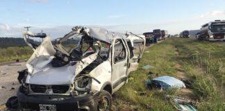 Choque fatal deja seis muertos en Entre Rios
