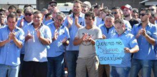 Colectiveros cantaron contra Macri por el crimen del chofer