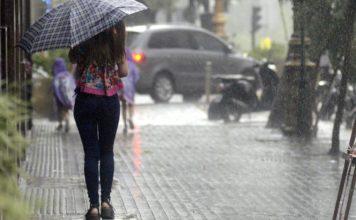 lluvias y alerta de granizo