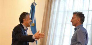 Macri se reunió con Cornejo por el aumento de tarifas