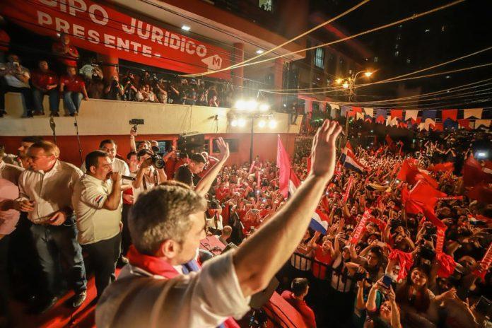 Mario Abdo Benítez es el nuevo presidente de Paraguay