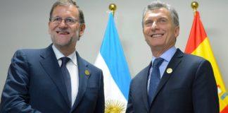 Rajoy apoyó a Macri por su decisión con el FMI