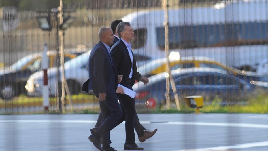 El presidente Mauricio Macri llega esta mañana a Casa de Gobierno