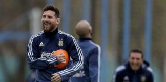 Mundial Rusia 2018: después del entrenamiento, Lionel Messi y su familia almorzaron en la Costanera