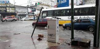 Inundaciones por las intensas lluvias en el Conurbano