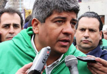 Pablo Moyano amenazó con un paro contra la reforma laboral