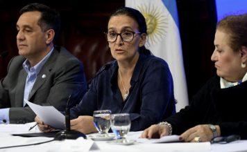 Gabriela Michetti dilata en el Senado la ley de despenalización del aborto