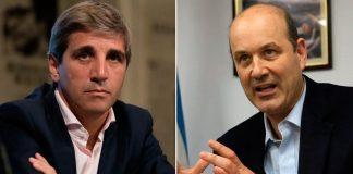 Denuncian a Caputo y Sturzenegger por fuga dólares del BCRA