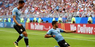 uruguay, rusia, goles, mundial rusia 2018