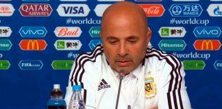 jorge sampaoli, selección argentina, dt argentina, conferencia de prensa
