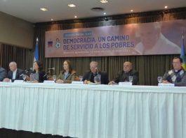 Monseñor Lugones criticó al Gobierno y apoyó el paro de la CGT