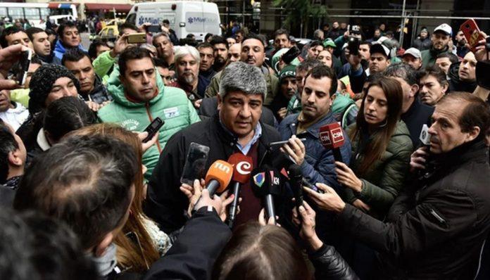 Pablo Moyano advirtió extender el paro de Camioneros