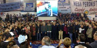 Club Los Andes: Rodríguez Saá, Gabriel Mariotto y Hugo Moyano juntos en otro encuentro ''Hay 2019''