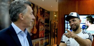 La charla de Mauricio Macri y el Kun Agüero: el mensaje del Presidente a la Selección Argentina