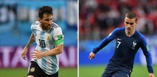 argentina, francia, formaciones, tv, horarios, transmisión, argentina vs francia,mundial rusia 2018