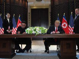 Kim se comprometió a desnuclearizar Corea del Norte y Trump le ofreció garantías de seguridad