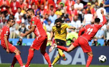 Bélgica, Túnez, mundial Rusia 2018, rusia, goles