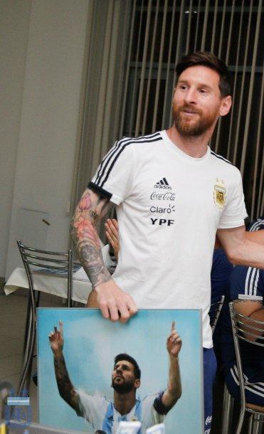 El festejo que la AFA por el cumpleaños de Messi en Rusia