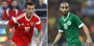 Rusia y Arabia Saudita dan comienzo al Mundial Rusia 2018