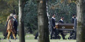 Máxima, la reina de Holanda, despidió los restos de su hermana Inés Zorreguieta en un cementario de Pilar