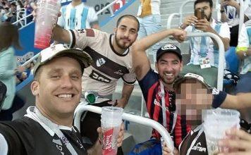 Deportaron a los hinchas argentinos que agredieron a croatas en Rusia